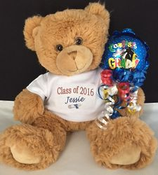 Class of 2017 Personalized Teddy Bear