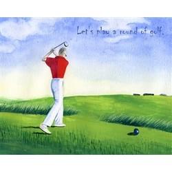 Round of Golf Fine Art Print
