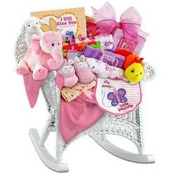 Baby Girl Rocker Gift