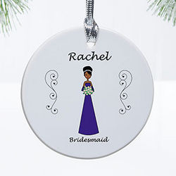 Wedding Party Personalized Ornament