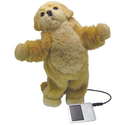 Dancing Golden Retriever iPod Speaker