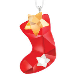 Swarovski Twinkling Stocking Ornament