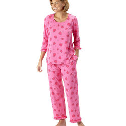 Sweetheart Ruffled Pajamas