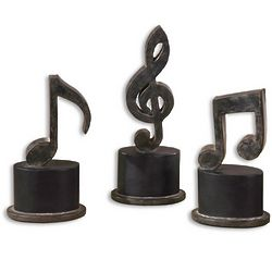 Musical Notes Sculpture