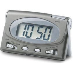 Travel LCD Alarm Clock