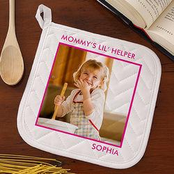 Kid's Personalized Photo Potholder