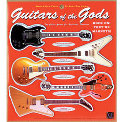 Guitars of the Gods Magnets