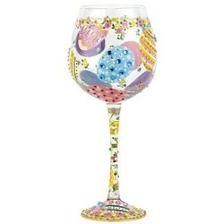 Easter Super Bling Wine Glass