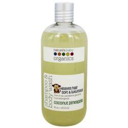 Baby's Organic Coconut Pineapple Shampoo and Body Wash