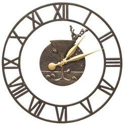 "Martini Floating Ring Indoor/Outdoor 16"" Wall Clock"