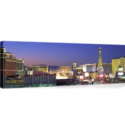 Las Vegas Strip at Dusk Canvas