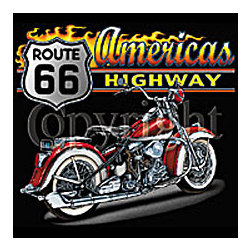 America's Highway Cycle 2 T-Shirt