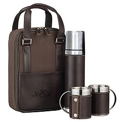 Classic Stainless Steel Portable Cafe Set