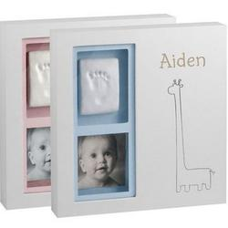 Babyprints Giraffe Personalized Wall Frame