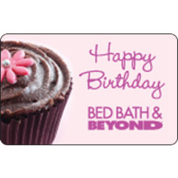 Bed Bath & Beyond Happy Birthday Gift Card