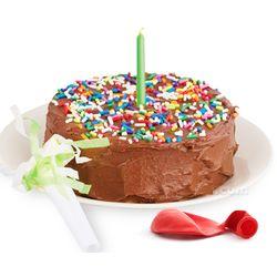1 Minute Microwavable Birthday Cake