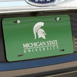 Color Anodized Custom License Plate
