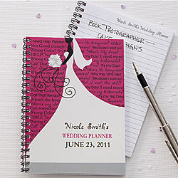 Personalized Wedding Planning Notebook