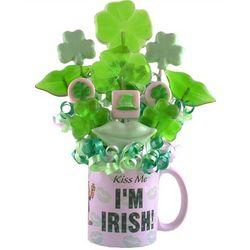 Kiss Me I'm Irish Lollipop Mug