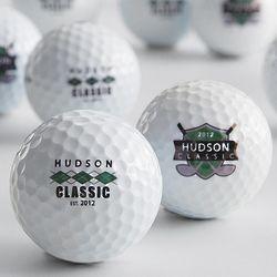 Personalized Titleist Golf Balls