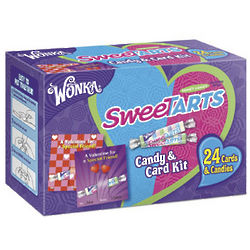Wonka Sweetarts Valentine's Candy and Card Kit