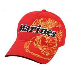 Red Marines Cap