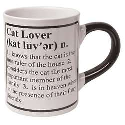 Cat Definition Mug
