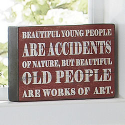 Beautiful People Sign