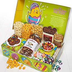 Egg-Ceptional Easter Snacker's Choice Gift Box