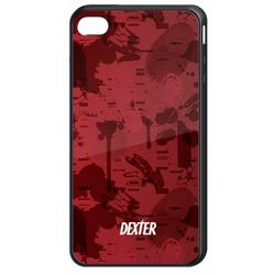 Dexter Blood Spatter and Footprints Cell Phone Case