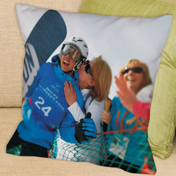 Picture Perfect Special Olympics Photo Throw Pillow