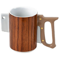 Ceramic Saw Coffee Mug