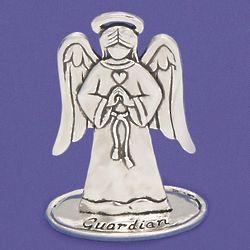Pewter Guardian Angel Figurine