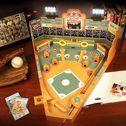 Classic Baseball Pinball Game