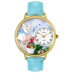 Easter Bunny with Eggs Miniatures Watch