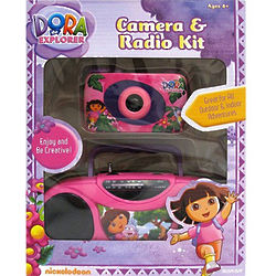 Dora the Explorer Camera and Radio Kit