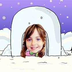 Your Photo in a Eskimo Caricature