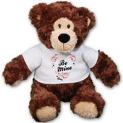 Personalized Be Mine Teddy Bear
