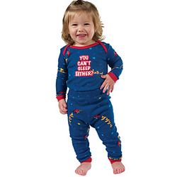 'You Can't Sleep Either?' Infant Pajamas