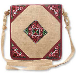 Chiang Kong Hemp Shoulder Bag