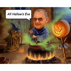 Witches and Warlocks Caricature from Photos