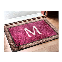 Welcome Monogrammed Doormat
