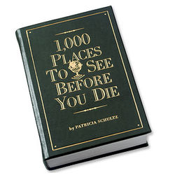 1,000 Places to See Before You Die, Leather Bound Edition