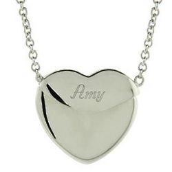 Sterling Silver Secret Message Heart Locket