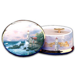Thomas Kinkade Beacon of Hope Music Box