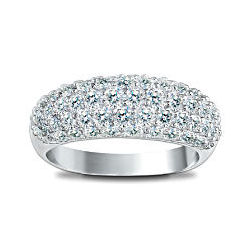 Decadence 3-Carat Diamonesk Simulated Diamond Ring