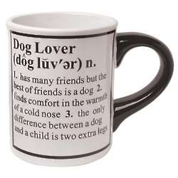 Dog Pet Definition Mug