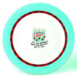 Have Your Cake and Eat It Too Birthday Plate