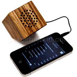 Zebra Wood Portable Speaker