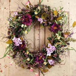 Windsor Silk Door Wreath